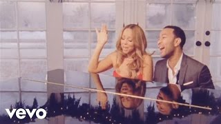 Download Mariah Carey, John Legend - When Christmas Comes Video