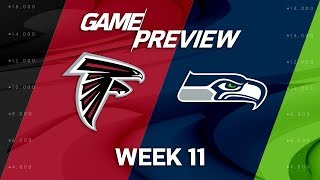 Download Atlanta Falcons vs. Seattle Seahawks | NFL Week 11 Game Preview | NFL Playbook Video