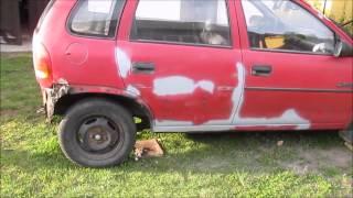 Download Opel Corsa B skorodowane nadwozie. Car body restoration Video