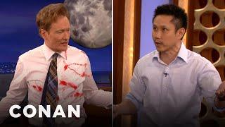 Download Steven Ho Teaches Conan Defense Against Guns & Knives - CONAN on TBS Video