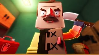 Download Minecraft - SETTING A TRAP TO KILL THE INTRUDER! (Hello Neighbor in Minecraft) Video