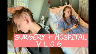 Download Waking up after brain surgery + days after in hospital Vlog Video