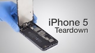 Download iPhone 5 Teardown - Step by step complete disassembly directions Video