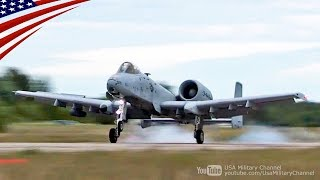 Download 荒れ果てて放置された滑走路に離着陸するA-10攻撃機 Video