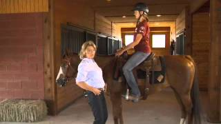 Download Basic Western Horseback riding position Seat and Legs with Kathy Slack Video