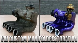 Download VW Custom Manifold / Restoration Video
