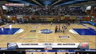 Download WBC Raiffeisen Wels @ Allianz Swans Gmunden 27.04.2014 Video