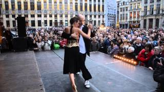 Download BTF 2014 Grand Place HORACIO GODOY & MAGDALENA GUTIERREZ with Solotango Orchestra Video