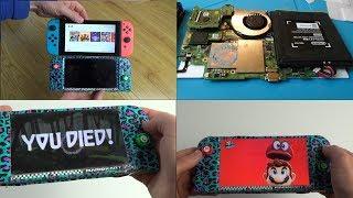Download Homemade Nintendo Switch Mini (20% smaller - 30% lighter) Video