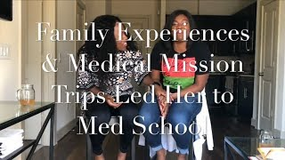 Download Family Experiences & Medical Mission Trips Led Her to Med School | #FindingYourWhy | BGWC Video