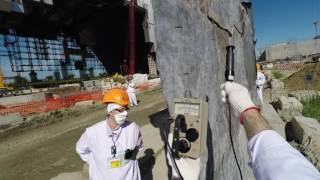 Download Radiation shielding for workers at the Chernobyl New Safe Confinement Video