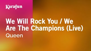 Download Karaoke We Will Rock You / We Are The Champions (Live) - Queen * Video