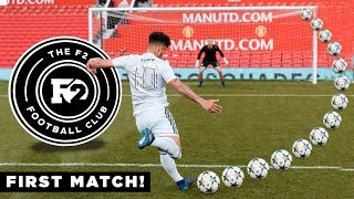 Download F2FC FIRST EVER MATCH AT OLD TRAFFORD VS TANGO SQUAD FC! Video