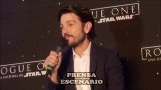 Download STAR WARS - ROGUE ONE - CONFERENCIA DE PRENSA COMPLETA - MEXICO Video
