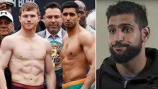 Download Amir Khan breaks down his brutal defeat to Canelo Alvarez Video