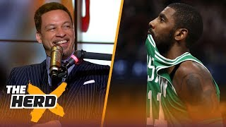 Download Chris Broussard on why Kyrie needed LeBron to succeed, Carmelo's next team | NBA | THE HERD Video