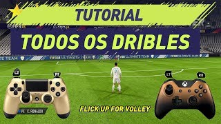 Download FIFA 18 | TUTORIAL TODOS DRIBLES | ALL SKILLS FIFA 18 (PS4/PS3 e XBOX ONE/360) Video