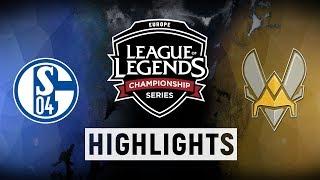 Download S04 vs. VIT - EU LCS Week 8 Day 1 Match Highlights (Summer 2018) Video