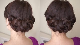 Download Spring Braided Flower Hair Tutorial Video