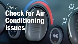 Download How To Diagnose Car Air Conditioning Problems - AutoZone Car Care Video
