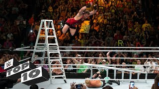 Download Money in the Bank ladder leaps: WWE Top 10 Video