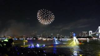 """Download Scene from Odaiba's """"Star Island"""" fireworks (Part 2 of 4: """"Summer"""") [RAW VIDEO] Video"""