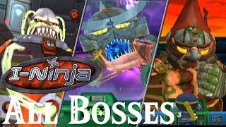 Download I-Ninja // All Bosses Video