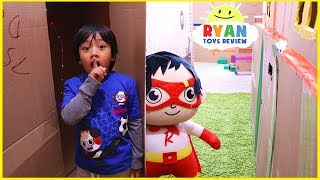 Download Ryan in Giant Box Fort Maze Challenge!!! Video
