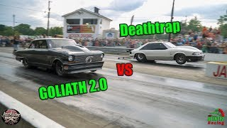 Download Street Outlaws Deathtrap vs Goliath 2.0 Jackson Dragway Chuck Has a Message for Season 10!! (4k) Video