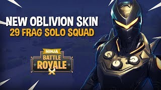 Download NEW Oblivion Skin!! 29 Frag Solo Squad!! - Fortnite Battle Royale Gameplay - Ninja Video