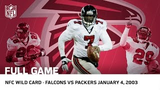Download Michael Vick's Historic Upset | Falcons vs. Packers 2002 NFC Wild Card Playoffs | NFL Full Game Video