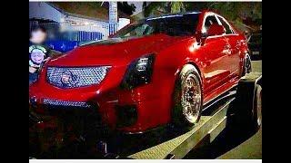 Download Dodge Hellcat Vs Cadillac Cts-V $1,300 Street Race Video