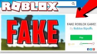 Download PLAYING FAKE RIPOFF ROBLOX GAMES! Video