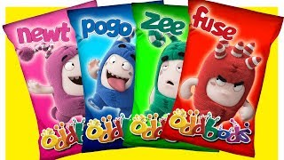 Download Learn Colors with Oddbods Wrong Heads Video