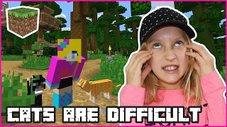 Download Cats are Difficult! / Minecraft Realm Video