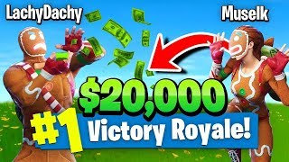 Download Lachlan & Muselk Trying To Win $20k In Fortnite Battle Royale (Tournament Highlights) Video