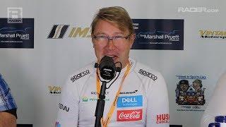 Download RACER: Reunion with McLaren's Mika Hakkinen and Zak Brown Video