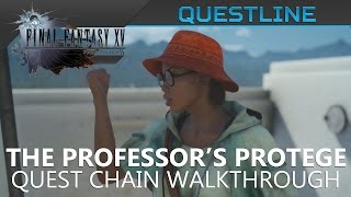 Download FFXV - The Professor's Protege quest red & yellow frogs, wyvern, griffin Video