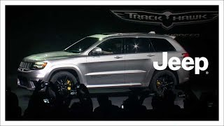 Download 2018 Jeep® Grand Cherokee Trackhawk Reveal | NYIAS | Jeep Video