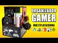 Download ORGANIZADOR GAMER | Mueble para VIDEOJUEGOS | MANUALIDADES RECICLAJE | DIY Te Digo Cómo Video