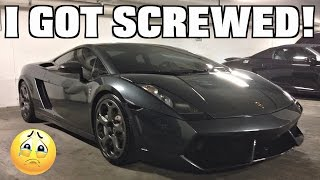 Download Buying A Lamborghini & Getting Screwed!! Video