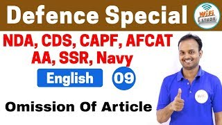 Download 11:00 PM - Defence Special English by Sanjeev Sir | Day #09 | Omission Of Article Video