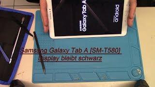 Download Samsung Galaxy Tab A [SM-T580] Display bleibt schwarz Video