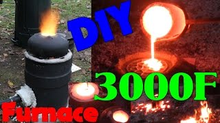 Download DIY Iron Furnace Build Video