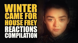 Download Game of Thrones Season 7   WINTER CAME FOR HOUSE FREY Reactions Compilation Video