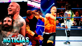 Download Noticias de WWE || Triple Amenaza en WrestleMania 33, John Cena Poniendo Over a Bray, Previa Raw Video