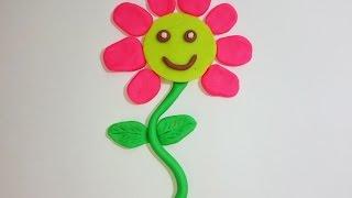 Download العاب صلصال للاطفال   عمل وردة بالصلصال Baby games Polymer clay flower tutorial clay games Video