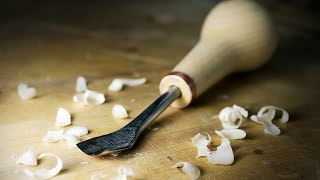 Download Make a carving gouge with a broken drill bit Video