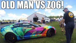 Download Old Man HATES My Z06 at GM Nationals... Video