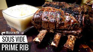 Download World's Easiest PRIME RIB! Sous Vide Guarantees Results Video